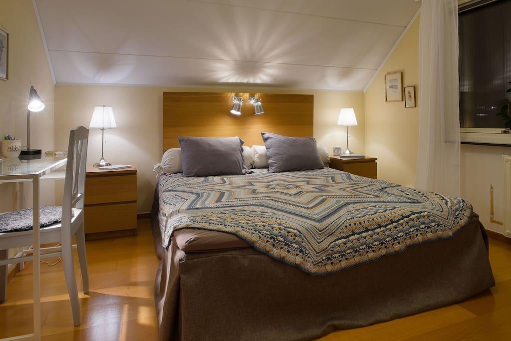 Main bedroom with work desk