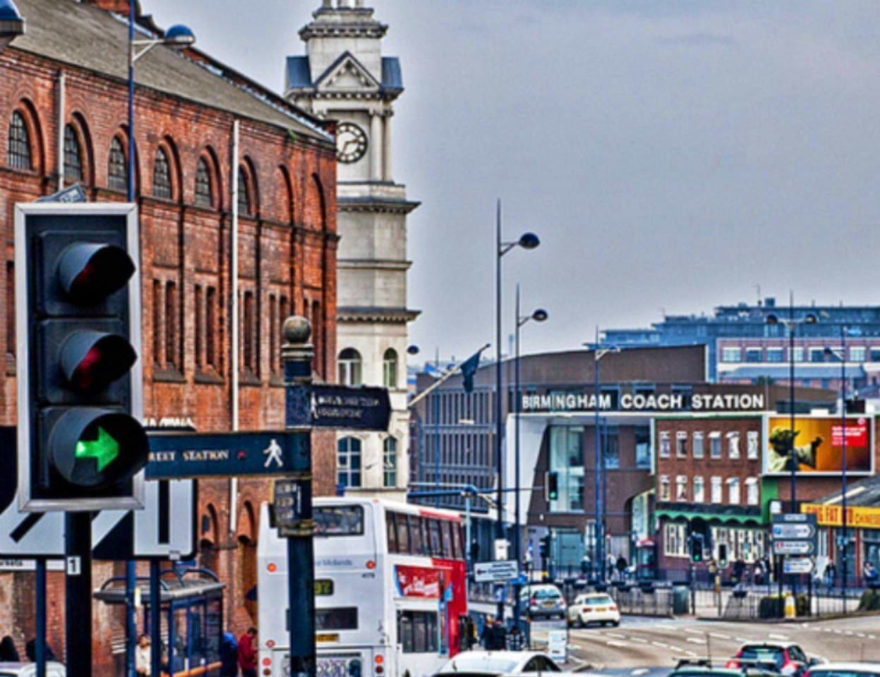 In the heart of Birmingham City centre