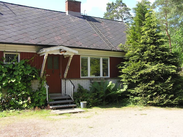 Nice house for 6 people in Hallands Län, Hishult