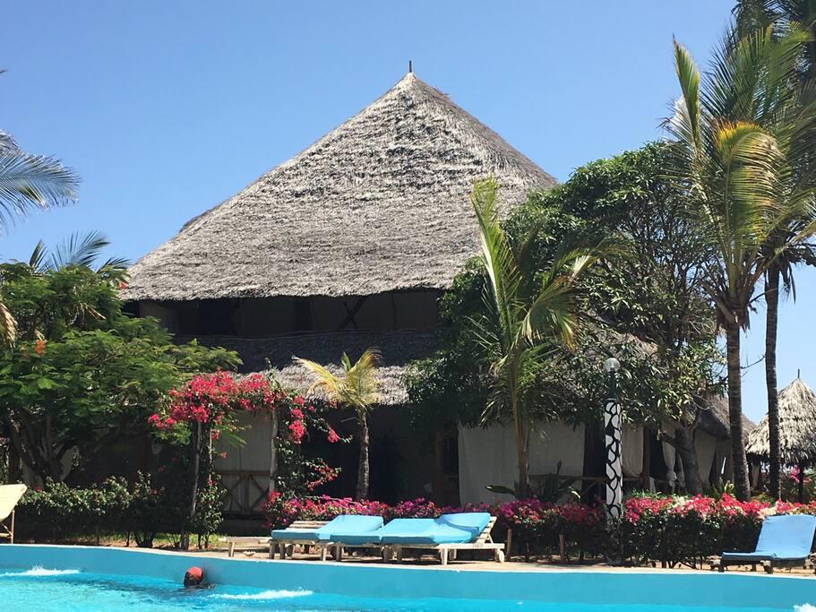 The villa in Mambrui, Malindi