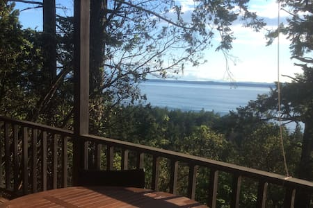Watch the orcas in private cabin!  - Friday Harbor