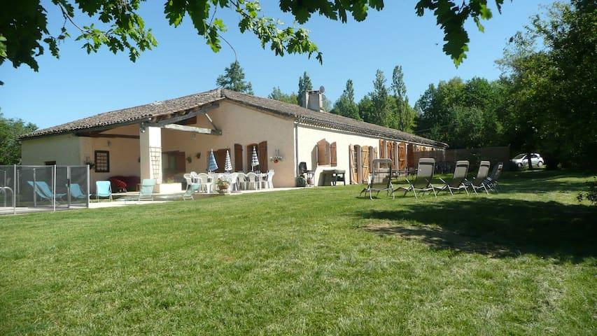 La Grange, Borde Basse, Fajolles - Fajolles - House