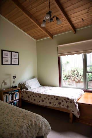 Bedroom 1 Twin Beds
