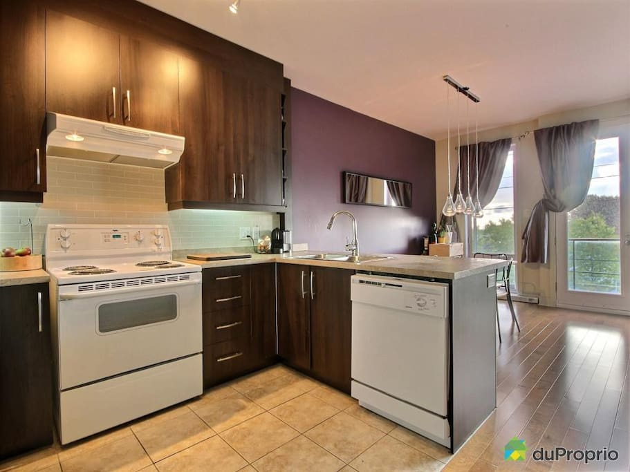 Bright with access to our kitchen & living areas