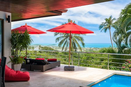 Chaweng - 3 bed sea view villa - 苏梅岛 - 独立屋