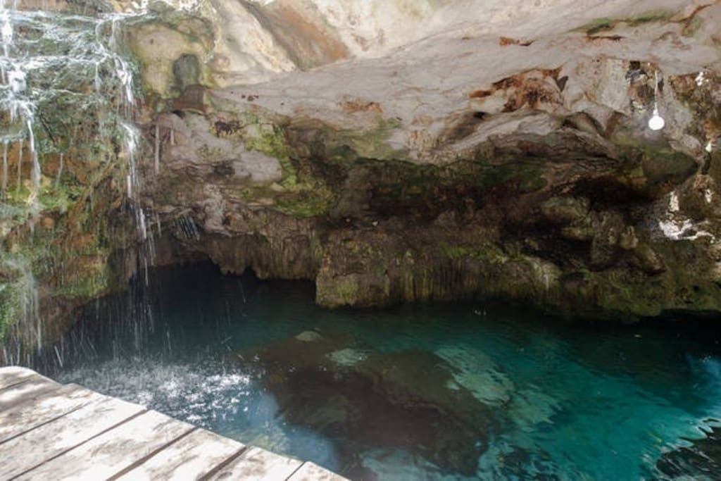 On the site cenote