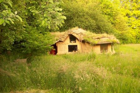 Alternativní dům ze slámy - Skuteč