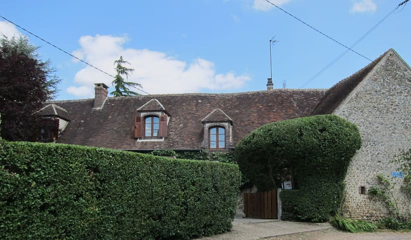 Beautiful Cottage 90mins from Paris - La Madeleine-Bouvet