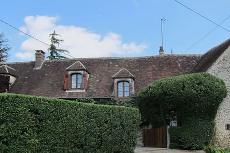 Beautiful Cottage 90mins from Paris - La Madeleine-Bouvet - Talo