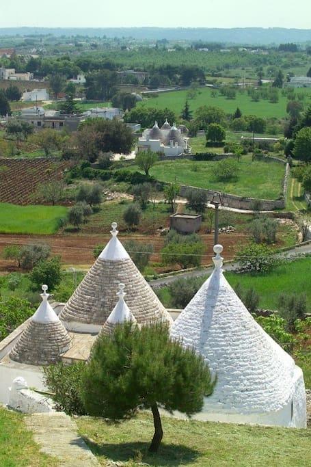 Veduta della Valle d'Itria