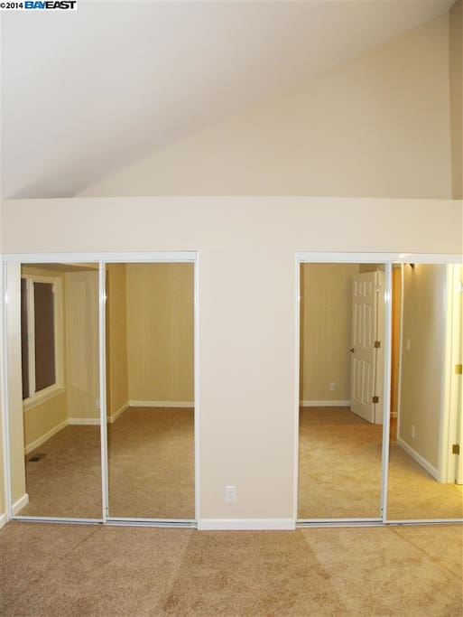 master bedroom with a private bath townhouses for rent in hayward california united states
