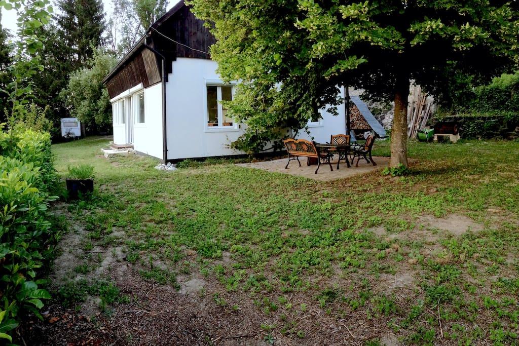 La maison avec le coin terrasse