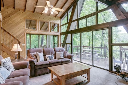 Lakeside Getaway With Firepit! - Innsbrook - Casa