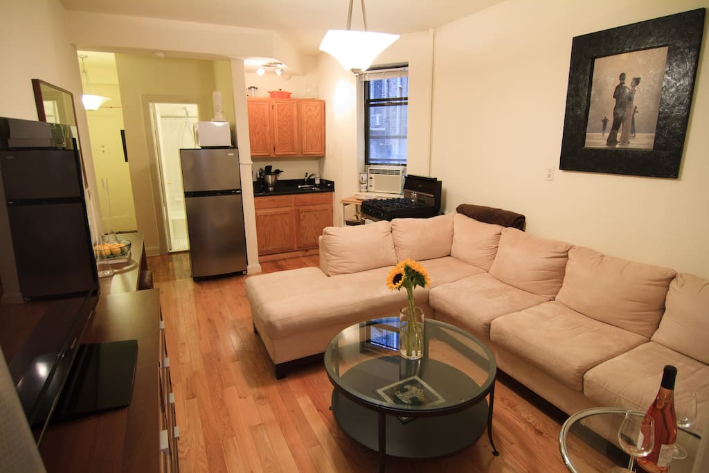 Modern Furnished Downtown Apt