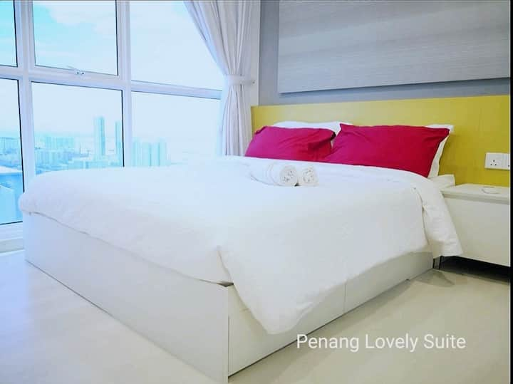 #08 Penang Lovely Suite (100Mbps) 城市美景