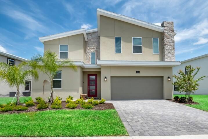 Luxury 9 Bedroom Villa on Champions Gate Resort, Orlando Villa 3233