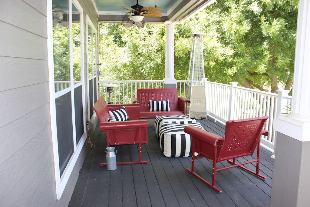 Drink your morning coffee and watch the sun rise on the main level porch.