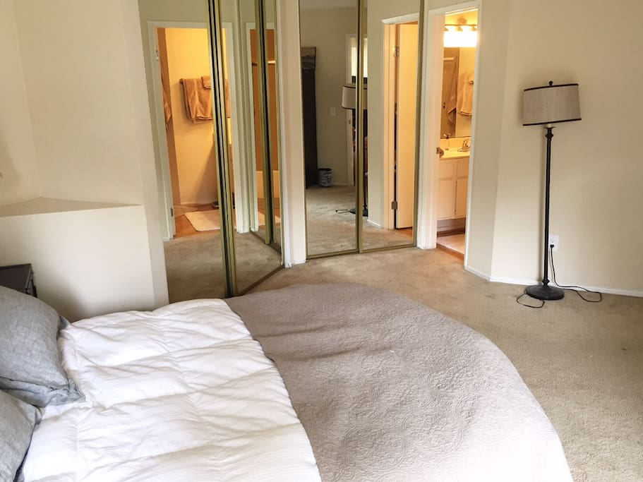 Master Bedroom In Fashion Valley Apartments For Rent In San Diego California United States