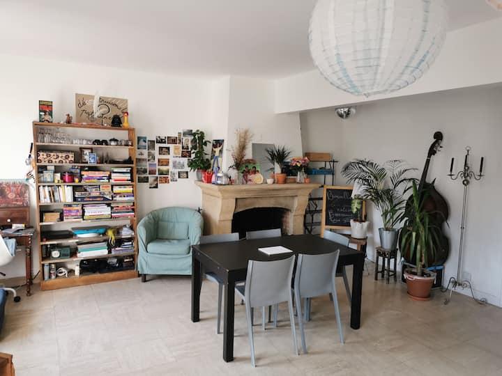 Chambre cosy privée dans une maison