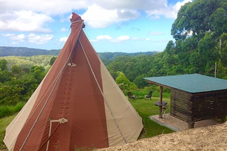 Tipi, 5 Star, with incredible view - Main Arm - Tepee