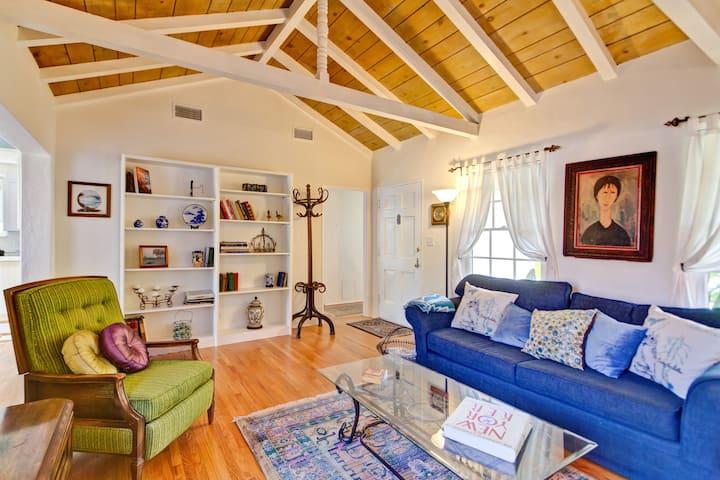 Santa Barbara Old Mission Cottage