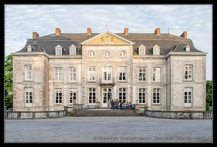Chateau de Waleffe: Orange Room