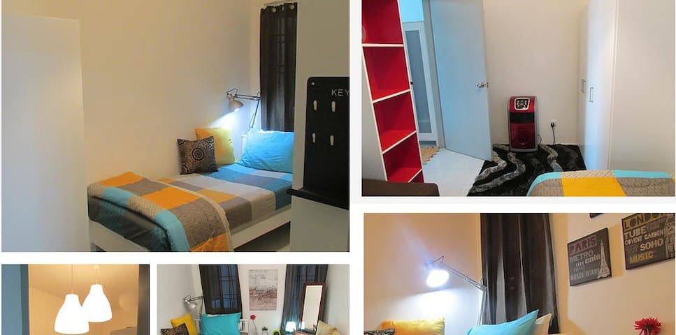 Green Villa Fully Furnished Room - Bangi - Apartamento