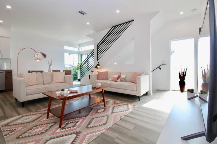 LA DELUXE Villa 3BR•3BT SPECIAL UVcleaning Privacy