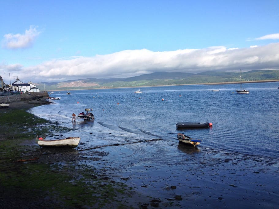 There is so much to do and explore in nearby Aberdyfi