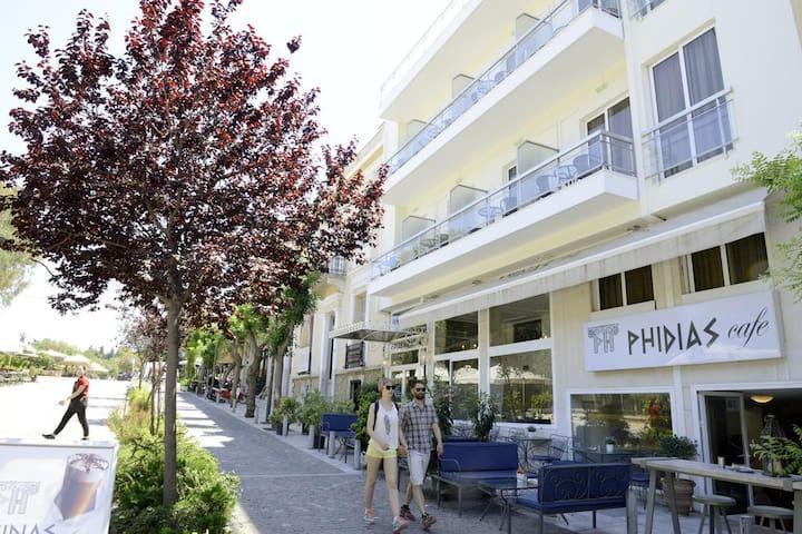 Φιλοξενία  Στην Καρδιά Της Αθήνας.*1