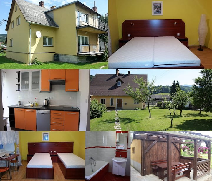 Apartmán Petra , Lipová -lázně