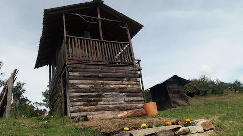 Te Faruru. Cabaña  acogedora cerca de Bogotá