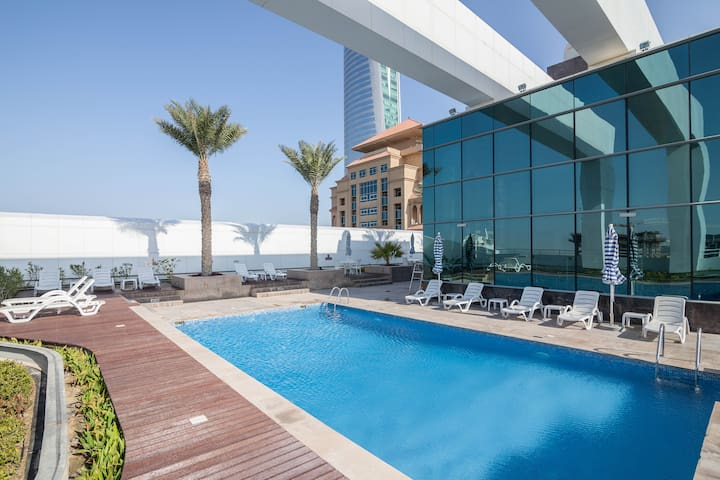 Dubai-JLT-Private Room with En Suite - Dubaj