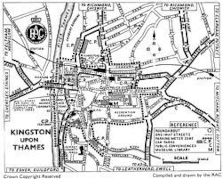MAP OF KINGSTON