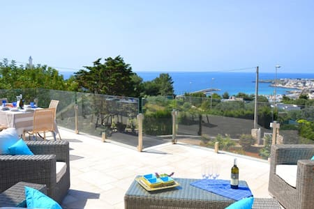 Amazing house with unique view on both seas - Leuca