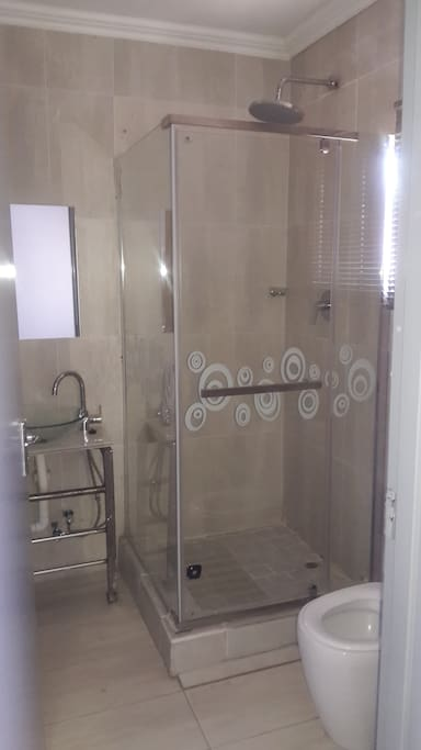 Room 1 shower