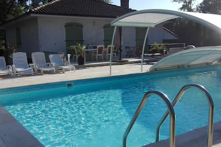CHAMBRE + SPA PISCINE  Bed & Breakfast - Fléac - Bed & Breakfast