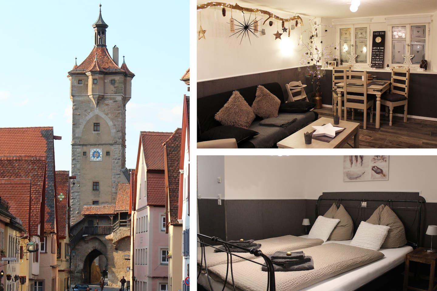 Ferienwohnung Rothenburg