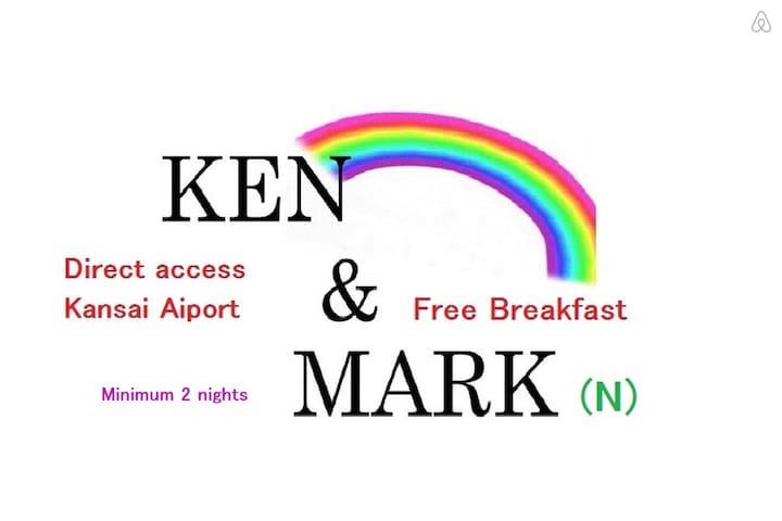 DIRECT KANSAI AIRPT Free B'Fast (N)