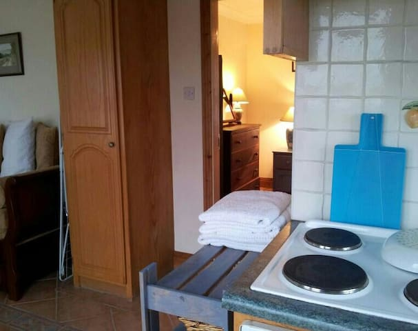 Kitchen/apt.Sleeps 2. - Kilkieran - Apartmen