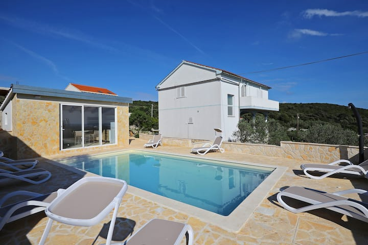 Villa Emi with Private Pool and Sea View