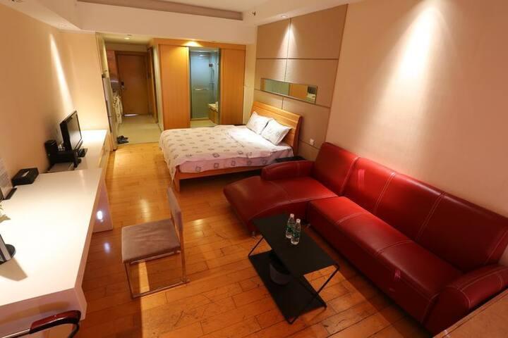 宽敞舒适独立套间大床房 - Guangzhou - Apartment