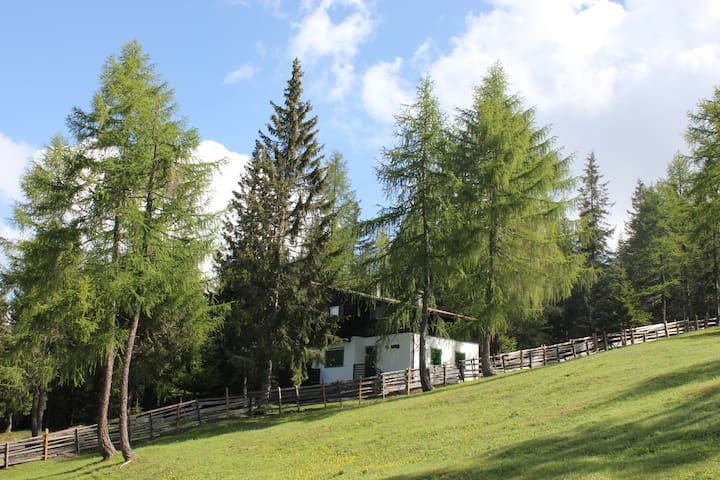 Selbstversorger-Berghütte in der Südtiroler Natur - Tret - House