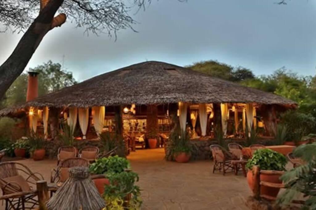 Kibo safari camp in Amboseli National Park