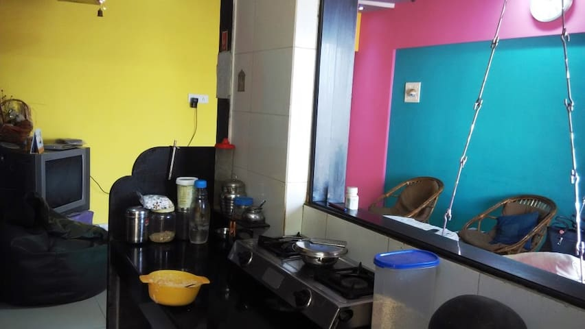 A 2 BHK FULL FURNISHED FLAT - Mira Bhayandar - Apartment