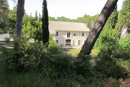 Mas provencal 8 pers. avec piscine - Saint-Étienne-du-Grès