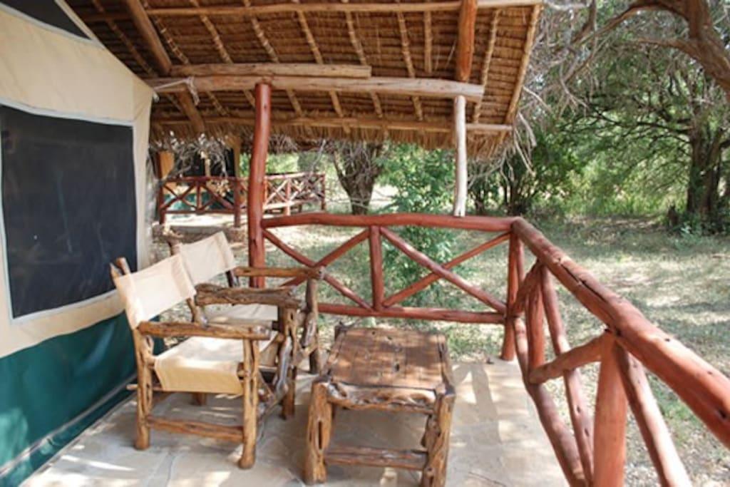 Resting Place at Ndololo safari camp