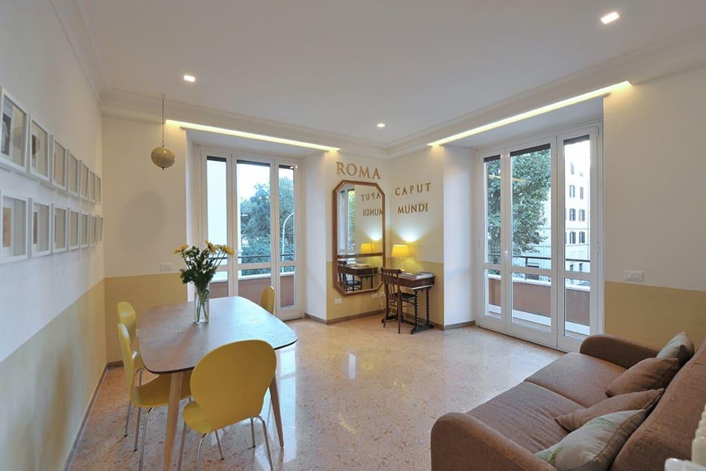 Luxury eco sustainable apartment in piramide for Affitto uffici roma piramide