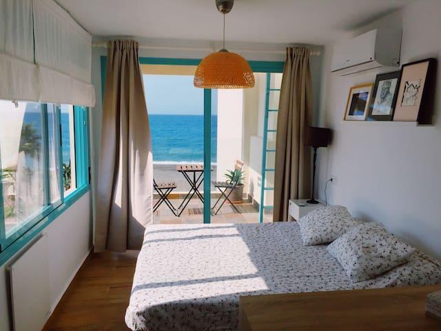 Precioso alojamiento en primera línea de playa