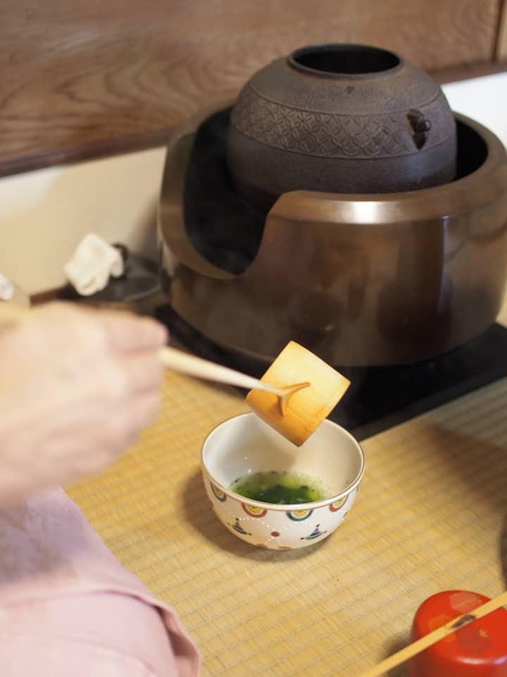 3.Kayoko will prepare matcha